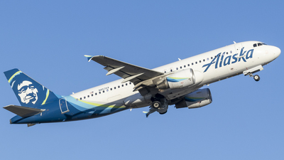 A picture of N853VA - Airbus A320214 - Alaska Airlines - © Brad Ice