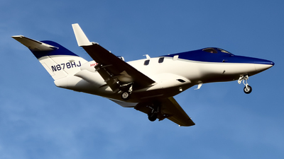 N878HJ - Honda HA-420 HondaJet - Private