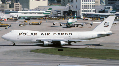 N652SJ - Boeing 747-121(SF) - Polar Air Cargo