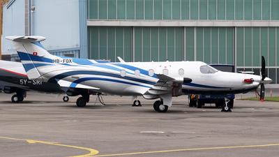 HB-FQX - Pilatus PC-12 - Private