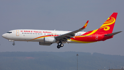A picture of B1492 - Boeing 73786N - Hainan Airlines - © LingFeng