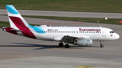 D-AGWX - Airbus A319-132 - Eurowings