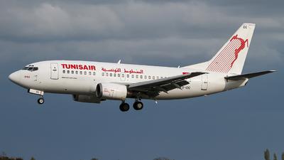 TS-IOG - Boeing 737-5H3 - Tunisair