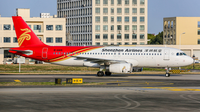 A picture of B6615 - Airbus A320232 - Shenzhen Airlines - © TMC_LOU8
