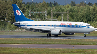 A picture of EW336PA - Boeing 7373Q8 - Belavia - © Airlinergeek
