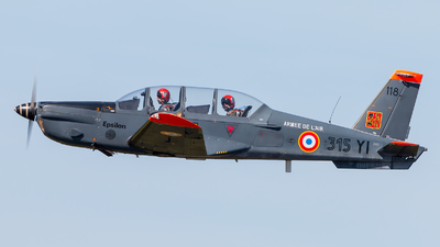 118 - Socata TB-30 Epsilon - France - Air Force