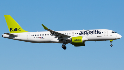 A picture of YLCSM - Airbus A220300 - Air Baltic - © Teemu Pesonen