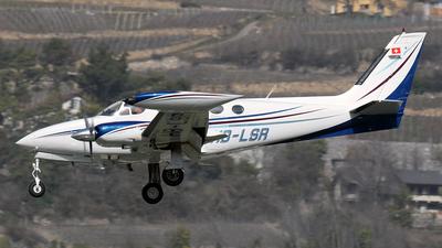 A picture of HBLSR - Cessna 340A - [3400180] - © Paul Denton