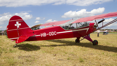 HB-ODC - Piper J-3C-65 Cub - Private