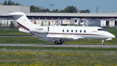 C-GUGY - Bombardier BD-100-1A10 Challenger 350 - Bombardier Aerospace