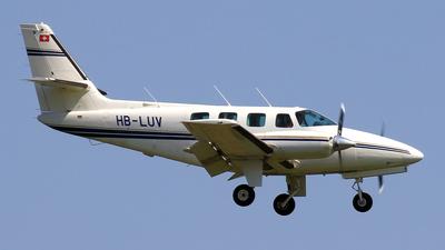 A picture of HBLUV - Cessna T303 Crusader - [T30300058] - © Eddie Heisterkamp
