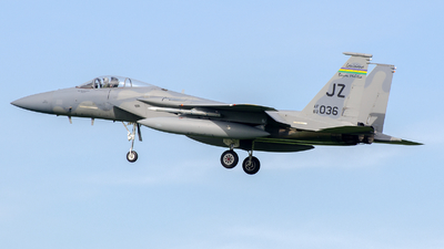 83-0036 - McDonnell Douglas F-15C Eagle - United States - US Air Force (USAF)