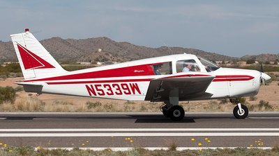 N5339W - Piper PA-28-160 Cherokee - Private