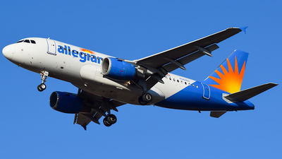A picture of N301NV - Airbus A319112 - Allegiant Air - © Evan Dougherty