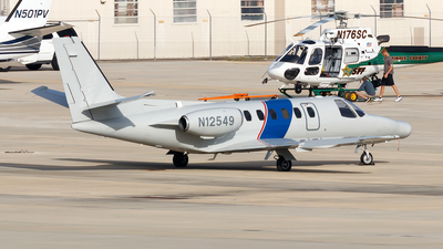 N12549 - Cessna 550 Citation II - United States - US Customs Service