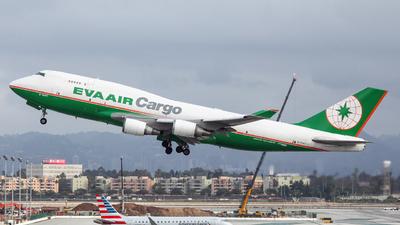 B-16407 - Boeing 747-45E(BDSF) - Eva Air Cargo