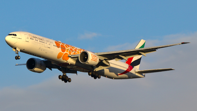 A picture of A6EPO - Boeing 77731H(ER) - Emirates - © wroblik75