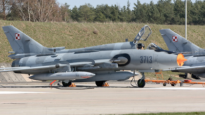 3713 - Sukhoi Su-22M4 Fitter K - Poland - Air Force