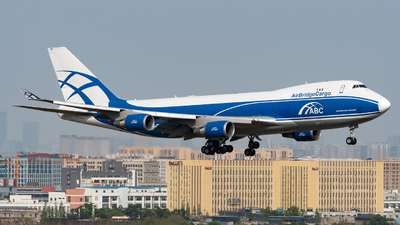 VP-BIM - Boeing 747-4HAERF - Air Bridge Cargo