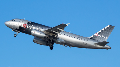 N522NK - Airbus A319-132 - Spirit Airlines
