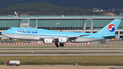 HL7636 - Boeing 747-8B5 - Korean Air