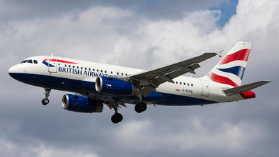 G-EUPE - Airbus A319-131 - British Airways