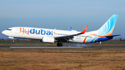 A picture of A6FEI - Boeing 7378KN - FlyDubai - © Marin Ghe.