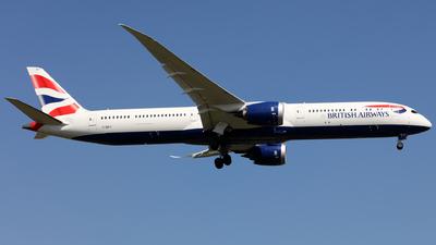 A picture of GZBLA - Boeing 78710 Dreamliner - British Airways - © J.M.Carballo