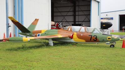 N504DM - Fouga CM-170 Magister - Private