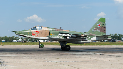 RF-95183 - Sukhoi Su-25SM Frogfoot - Russia - Air Force