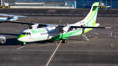 A picture of ECLAD - ATR 72500 - Binter Canarias - © Nelson Sousa