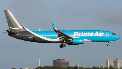 N5167A - Boeing 737-83N(BCF) - Amazon Prime Air (Southern Air)
