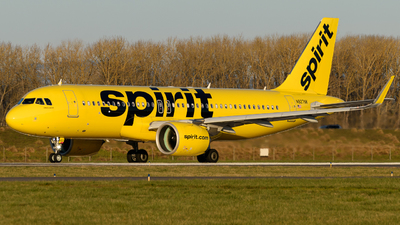 A picture of N927NK - Airbus A320271N - Spirit Airlines - © TriSpotterWA