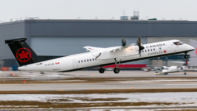 C-GYJZ - Bombardier Dash 8-Q402 - Air Canada Express (Jazz Aviation)