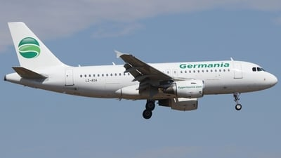 LZ-AOA - Airbus A319-111 - Germania (Bulgarian Eagle)