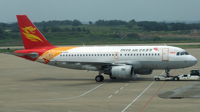 B-6215 - Airbus A319-112 - Deer Air