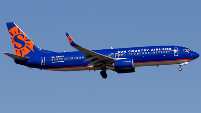 N826SY - Boeing 737-8F2 - Sun Country Airlines