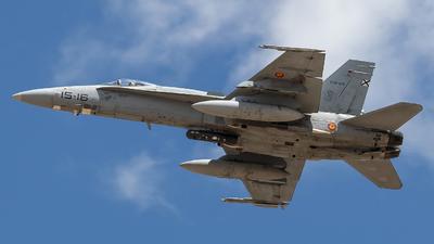 C.15-29 - McDonnell Douglas EF-18M Hornet - Spain - Air Force