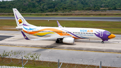 A picture of HSDBY - Boeing 73788L - Nok Air - © JG_Kojiro