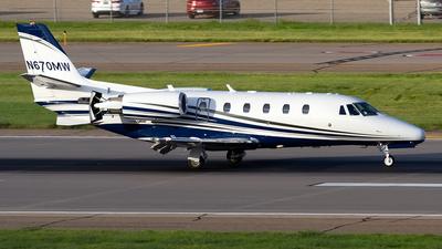 A picture of N670MW - Cessna 560XLS Citation Excel - [5605511] - © Jeremy D. Dando