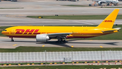 A picture of N773CK - Boeing 777F - DHL - © Thomas Tse