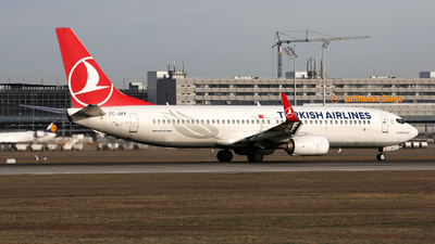 A picture of TCJVY - Boeing 7378F2 - Turkish Airlines - © Stefan Mayer