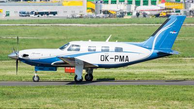 OK-PMA - Piper PA-46-500TP Malibu Meridian - Private