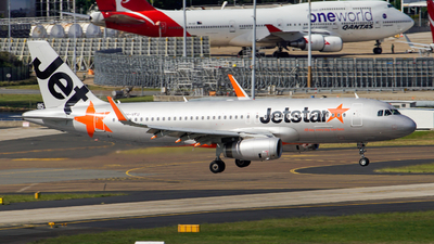 VH-VFU - Airbus A320-232 - Jetstar Airways