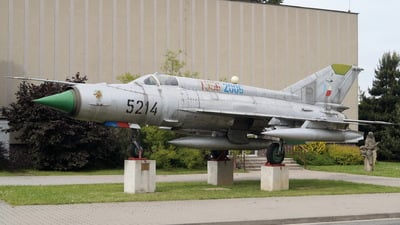 5214 - Mikoyan-Gurevich MiG-21MF Fishbed J - Czech Republic - Air Force