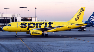 A picture of N509NK - Airbus A319132 - Spirit Airlines - © Rocky Wang