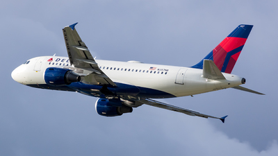 A picture of N357NB - Airbus A319114 - Delta Air Lines - © Stephen J Stein