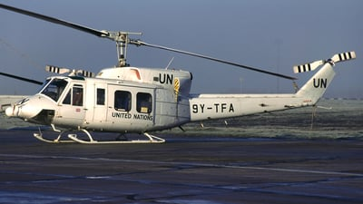 9Y-TFA - Bell 212 - Bristow Helicopters