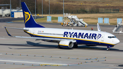 A picture of EIDLK - Boeing 7378AS - Ryanair - © Andre Bonn