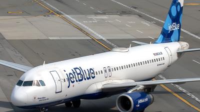 N834JB - Airbus A320-232 - jetBlue Airways
